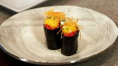 , gunkan en nigiri gemaakt! #uramaki #maki #gunkan #nigiri #sushi ...