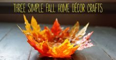Fall is the perfect time to bring the outside in. The season provides so many wonderful decorative elements that'll add warmth and character to your home. Check out these three simple DIYs that we love and we're sure you will too. Mason Jars of Falls Grab a couple of your old mason jars and votive …