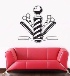 Vinyl Wall Decal Sticker Bedroom Hair Nail Salon Signboard Barber shop r1593 #3MFDC #Modern