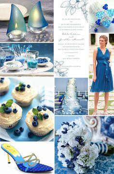 True blue weddings