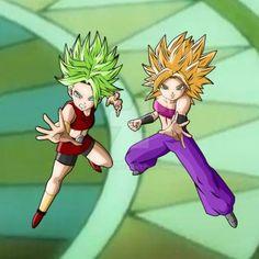Kale And Caulifla (Battle Royale) by Akaggi