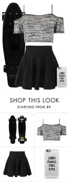 """""""Cute Skater"""" by quonton ❤ liked on Polyvore featuring Boohoo and Casetify"""