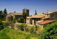 El poble de Tavertet, a Osona (Catalunya - Catalonia).