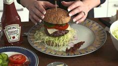 Slank med burger......