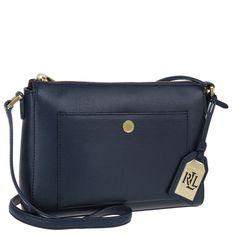Lauren Ralph Lauren Newbury Pocket Crossbody Bag Navy bei Fashionette