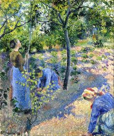 Apple Picking Camille Pissarro - 1881