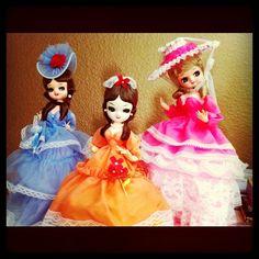vintage dollies