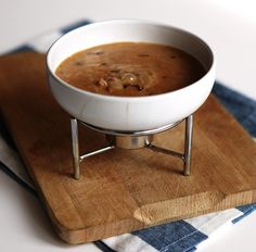 Chipotle, Chorizo and Dark Beer Fondue! There is beer. There is cheese. There is chipotle. There is meat. Does it get better?
