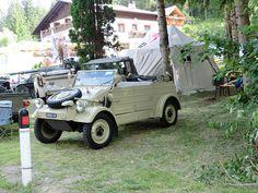 Volkswagen Kübelwagen Raduno di San Felice St Felix Bolzano Italy 2012 left