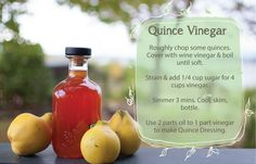 Quincepiration – Sweet and Savoury Quince Recipes Fruit Recipes, Summer Recipes, Jar Recipes, Quince Recipes, Fruit Creations, Meals In A Jar, Batch Cooking, Fruit In Season, Spice Mixes