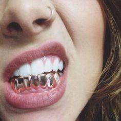 "badwoodx: ""my grillz ; Mouth Grills, Grills Teeth, Piercings, Girl Grillz, Grillz Gold, Diamond Grillz, Gangsta Grillz, Gold Slugs, Selfies"