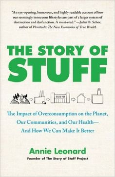 Annie Leonard explains how the stuff people use every day is destroying the world, describing the waste and environmental damage that is created by the production, distribution, consumption, and disposal of material objects; and offers steps that can be taken to saving one's health, communities, and the planet.