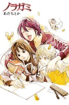 Noragami ~~ Unbreakable bonds unite these three friends :: Yato, Hiyori, and Yukine