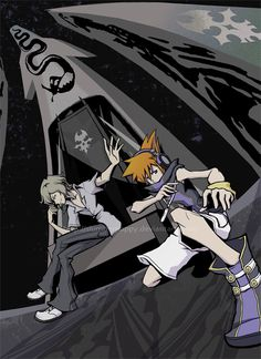 The World Ends With You - Neku and Joshua