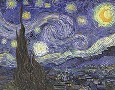 Vincent Van Gogh (The Starry Night) Art Poster Print Masterprint at AllPosters.com