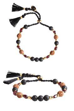 Enchanting Lava Root Chakra Bracelet for attractive woman Lava Bracelet, Chakra Bracelet, Bracelet Set, Bracelet Making, Beaded Necklace, Beaded Bracelets, Jewellery Bracelets, Handmade Bracelets, Bangles