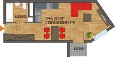 Rzut mieszkania Nasa, Floor Plans, Diagram, Google, Floor Plan Drawing, House Floor Plans
