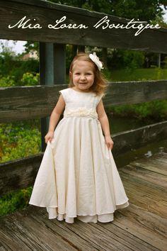 flower girl dress on etsy | Bridal Party ~ Morris-Kelton Wedding ...