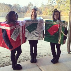 Christmas Character Costume Present Holiday Idea Spirit Week