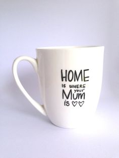 Home is where your Mum is... Personalized Mug