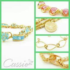 ✨ Escolha seu estilo na Cassie.✨  E brilhe!!!!     Semijoias folheadas a ouro com garantia de 6 meses no banho contra defeitos de fabricação.    Fique ligadinha, amanhã tem mais novidades !!!   #Cassie #semijoias #acessórios #Moldiv#love #trends #cute #look #lookinspiração #moda #fashion #estilo #inspiração #pulseirismo #love #happy #good #Inspired #instamoda #tendências #instagood #likes #picoftheday #dourado #folheado #pulseiras #folheado