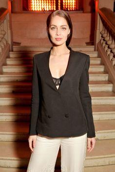 Marie-Ange Casta in H&M - Fashion Forward: 3 Siecles De Mode: Cocktail Party, Paris - April 5 2016