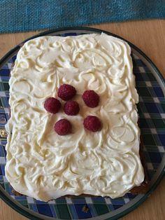 I går laget jeg denne kaken. Den ble rett og slett bare supergod. I den lavkarbo - livsstilen jeg...