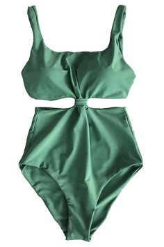 0b78b78d0d Cupshe Fashion Women s Double-layered Padding One-piece Swimsuit