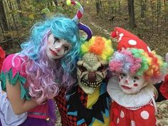 Princess Ella goes to find the creepy killer clown in the woods and gets kidnapped.scary skit part 1