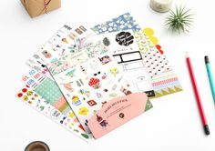Diary Deco Sticker Pack Ver.7 [ 9 Sheets ]  / 101594211 by DubuDumo on Etsy