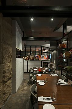 The Salted Pig Restaurant, Hong Kong designed by Kinney Chan