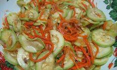 Кабачки по-корейски «улетают» первыми   Школа вкуса - вкусные кулинарные рецепты