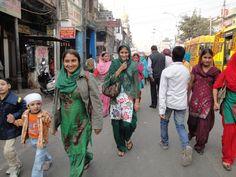 Calles de Nueva Delhi