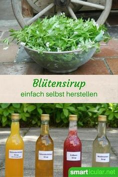 A syrup made from local berries or flowers will keep your natural aroma all year round! This will make your dishes even tastier! Informations About Blüten- und Beerensirups – Genuss … Diet Drinks, Smoothie Drinks, Yummy Drinks, Healthy Drinks, Healthy Recipes, Superfood Smoothies, Pesto, Liqueur, 21 Day Fix