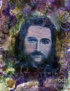 Saviour Painting by Maya Telford - Saviour Fine Art Prints and Posters for Sale fineartamerica.com