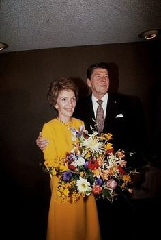 Ronald Reagan with Nancy Reagan