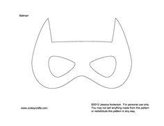Batman Mask to kids