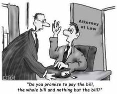 Legal Humor legal fees