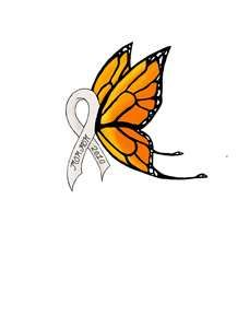 Butterfly cancer ribbon tattoo by ~fullmetal-mustang on deviantART