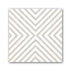 Pale Silver Chevron Cocktail Napkins to go with the rest of your shimmery New Year's decor!