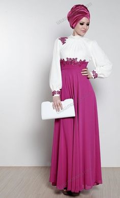 Model gamis cantik gamis modern #Hijab #BusanaMuslim #Hijabi #HijabTutorial www.hafana.com