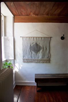 Woven Wall Hanging: Tapestry Weaving in by BookMeatStudio