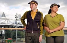 "McDonalds uniform - we thought Sophie could wear a ""mushy peas"" green polo, and perhaps an extra wearing a ""fish batter"" gold polo. The kind of fake-fun marketing-exec choice uniform that ""shows the company's fun side"" that would really irk the worker wearing it."