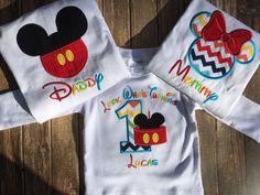 Resultado de imagen para camisas para cumpleaños de mickey