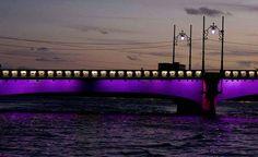 Recife no final de tarde, ponte sobre o Rio Capibaribe, Eu AMO O RECIFE - Fb.