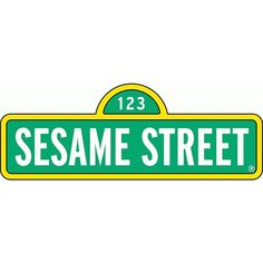 """Sesame Street Sign Cartoon Car Bumber Sticker Decal 8"""" X 3"""" ($3.79) ❤ liked on Polyvore featuring home, home decor, sesame street sign, car signs, car home decor, sesame street and car interior decor"""