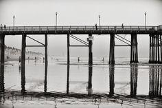 Reflection of Oceanside Pier