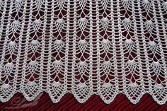 Crochet Knitting Handicraft: Curtains