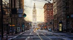 I love SF's Market Street. There's a vibrancy and life to it, a sense of the sat and the future