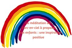Cette méditation encourage votre enfant à puiser une inspiration positive dans les couleurs d'un arc-en-ciel afin d'augmenter sa confiance en lui. Daily Meditation, Yoga For Kids, Teaching French, Poses, Afin, Zen Yoga, Naturopathy, Relaxing Yoga, Positive Attitude